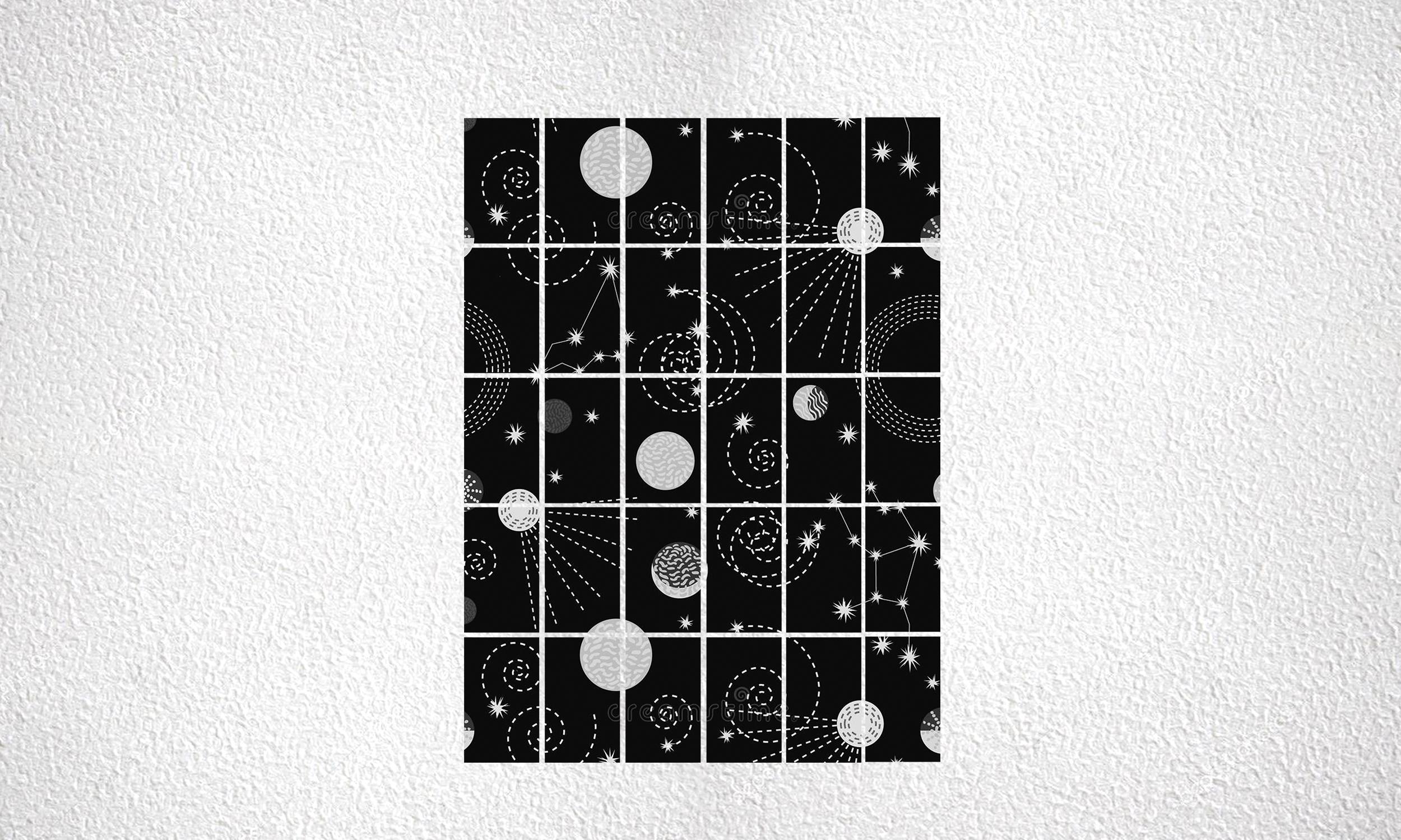"""Composizione """"Planets"""" 30 mod da 250 Wp"""