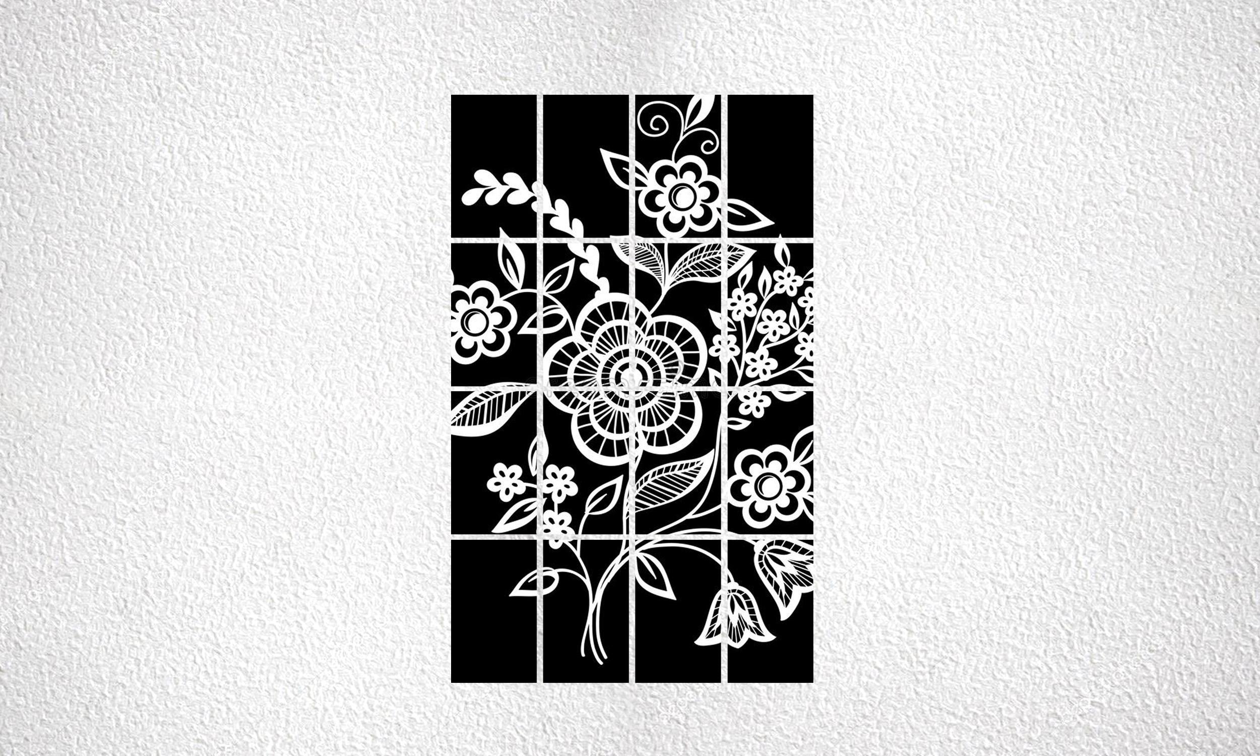 "Composizione ""Flowers"" 16 mod da 250 Wp"