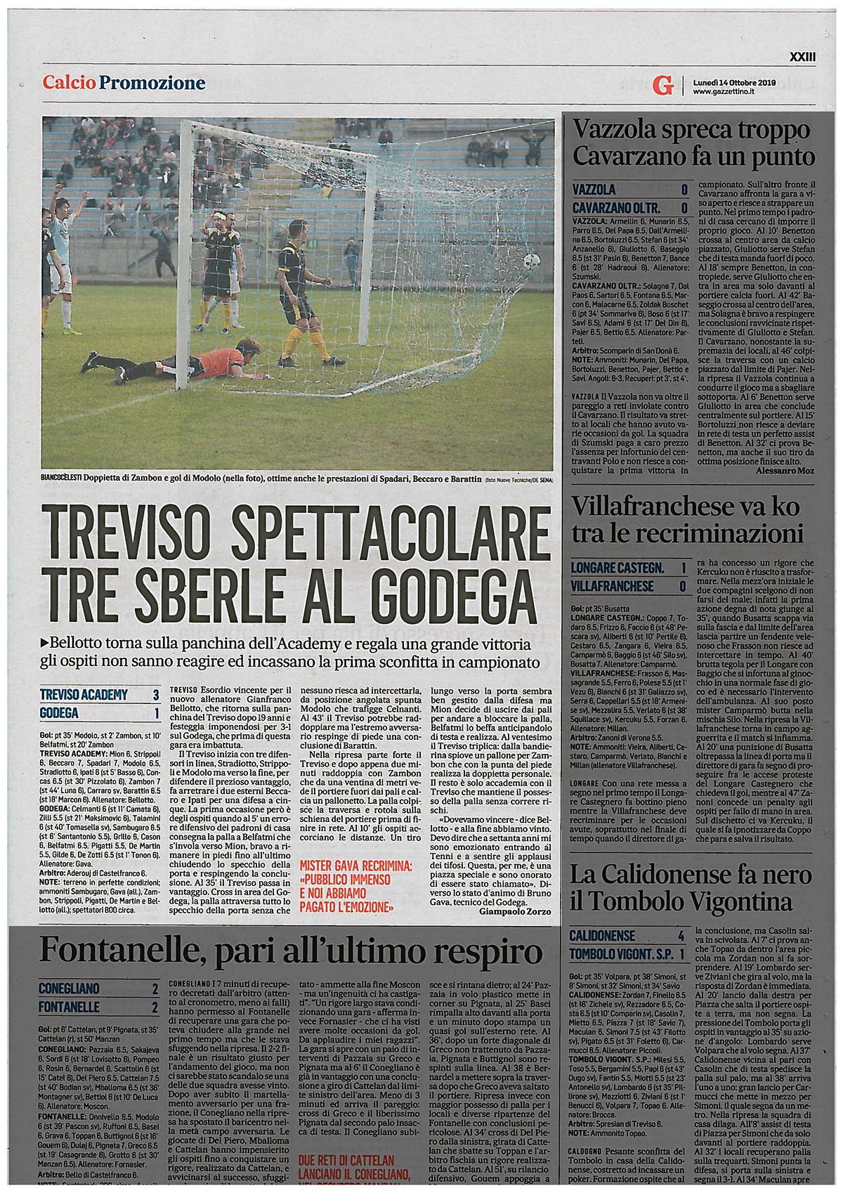 articolo_calcio treviso_ilgazzettino
